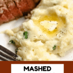 Horseradish Mashed Potatoes Pinterest Graphic 2