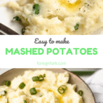Horseradish Mashed Potatoes Pinterest Graphic 5