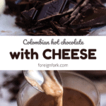 hot chocolate with cheese pinterest graphic 5