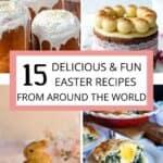 15 Easter Recipes Pinterest Image middle banner