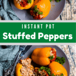 Croation Stuffed Peppers In The Instant Pot Pinterest Image Middle banner