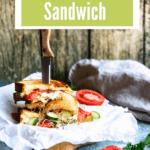 Panzanella Sandwich Pinterest Image