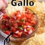 Summertime Pico de Gallo top outlined title