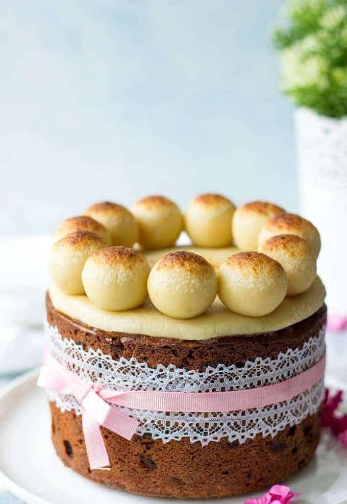 British easter fruit cake
