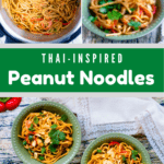 Thai Inspired Peanut Noodles In The Instant Pot Middle Green Banner