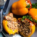 Instant Pot Stuffed Peppers from Croatia