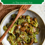 Instant Pot Beef and Broccoli Top Green Banner