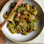 Instant Pot Beef and Broccoli Pinterest Image Bottom Banner