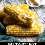 Corn on the Cob Pinterest Image bottom black banner