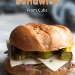 Medianoche Sandwich Pinterest Image