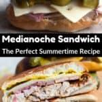 Medianoche Sandwich Pinterest Image middle black banner