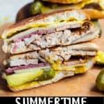 Medianoche Sandwich Pinterest Image bottom black banner