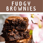 Back To School Fudgy Brownies Middle brown banner