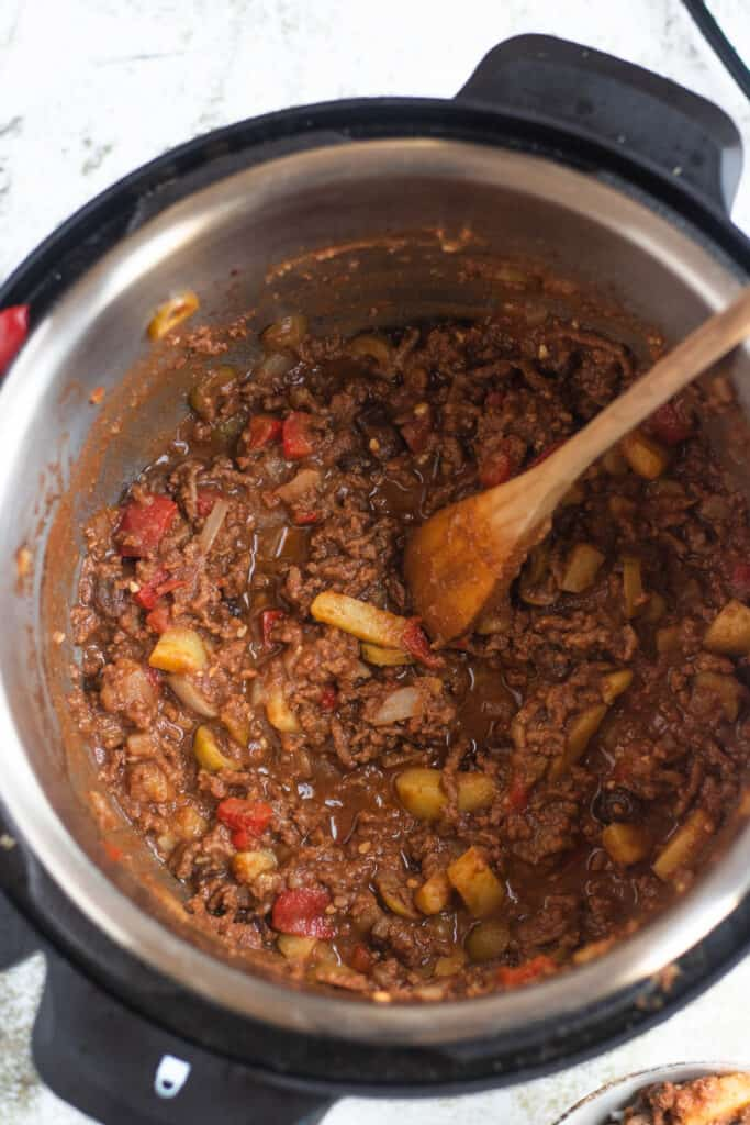 Cuban Picadillo in the Instant Pot
