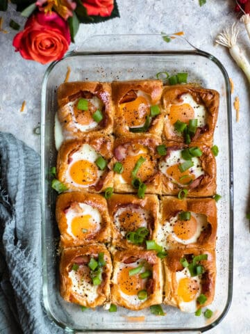 Egg in a Hole Bake