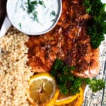 Instant Pot Salmon with Lemon and Dill