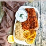 Easy Instant Pot Salmon Recipe Pinterest Image top clear banner