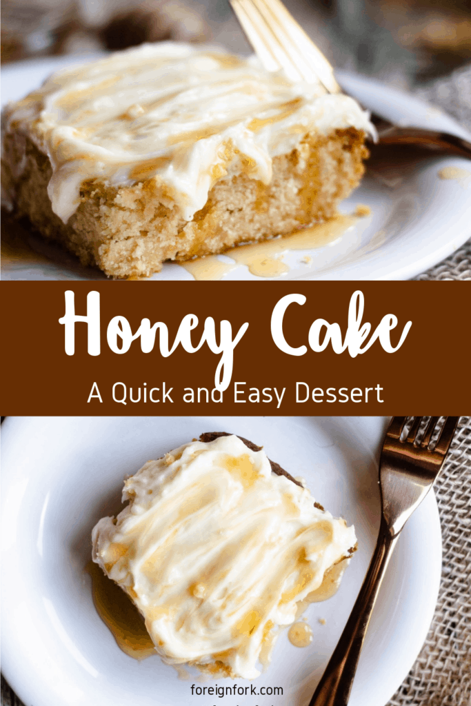 Honey Cake Pinterest Image