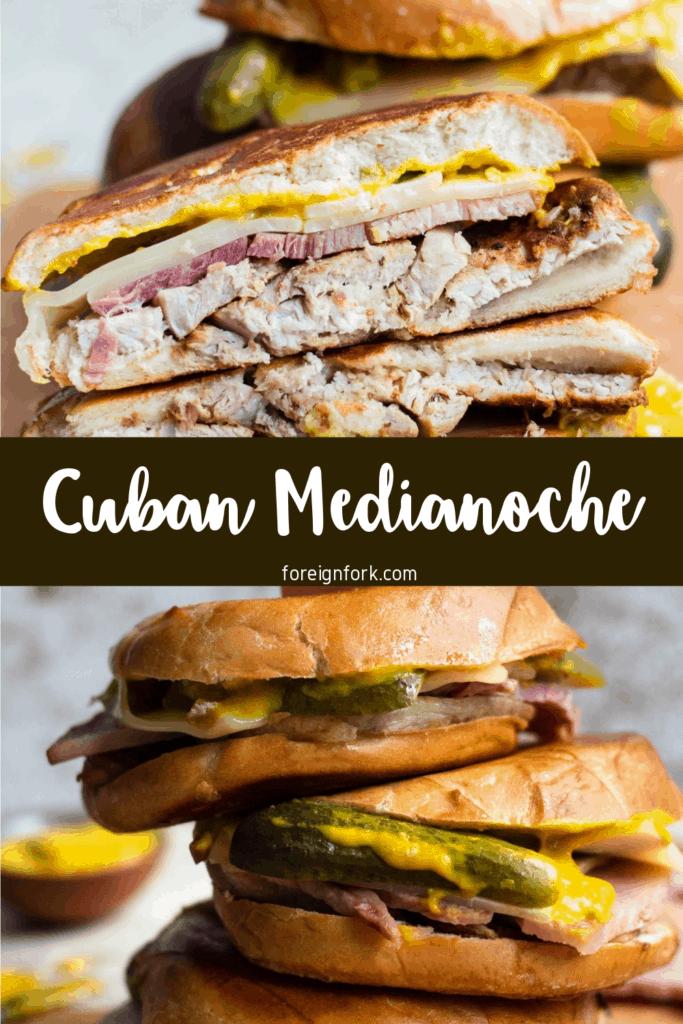 Medianoche Sandwich from Cuba