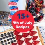 Fourth of July Recipes Pinterest Image
