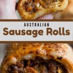 Australian Sausage Rolls Pinterest Image