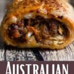 New Australian Sausage Rolls Pinterest Image bottom design banner
