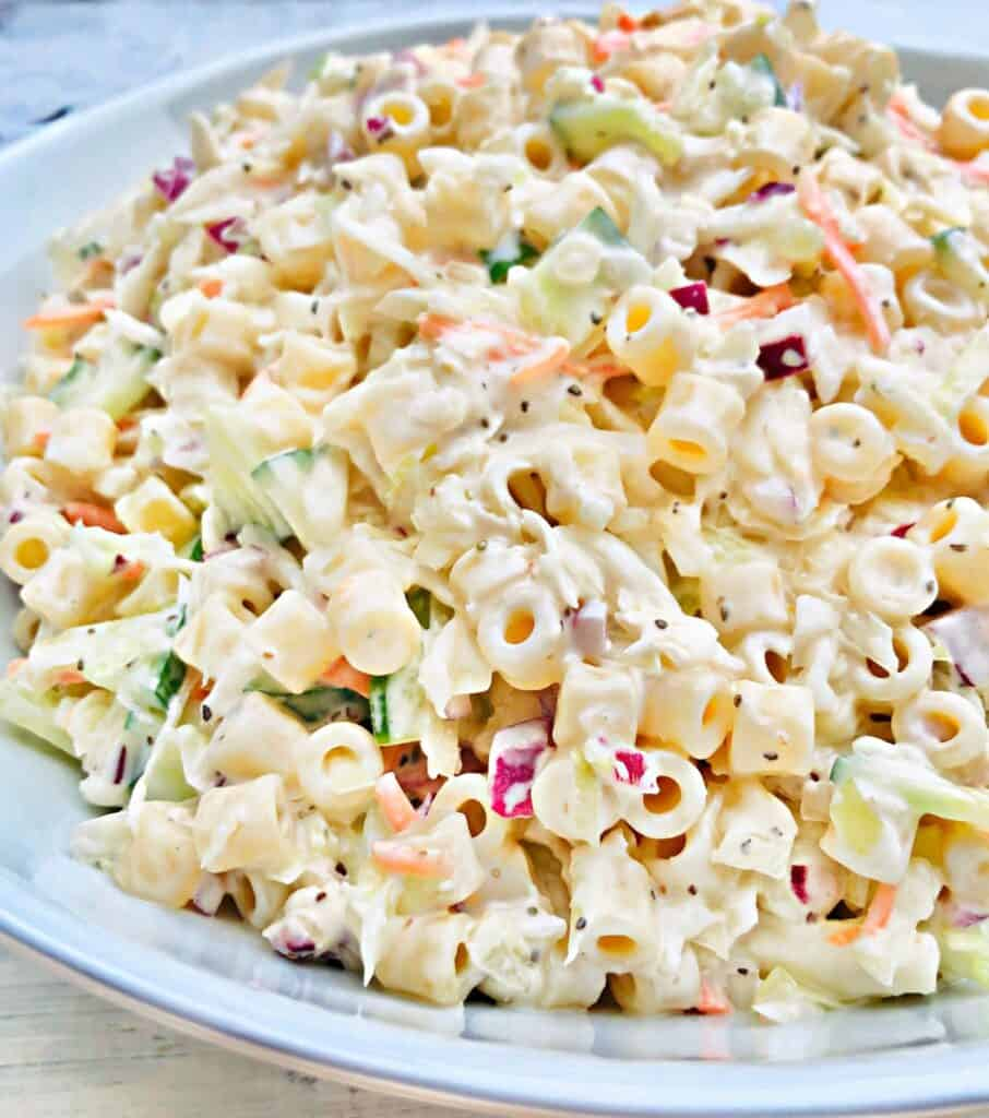 Coleslaw pasta salad for fourth of july recipes