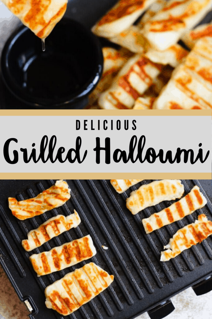 Delicious Grilled Halloumi