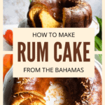 Rum Cake Pinterest Image