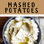 Instant Pot Mashed Potatoes Pinterest Image