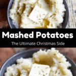 Christmas Mashed Potatoes Pinterest Image Middle Black Banner