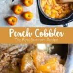 peach cobbler pinterest image 3 photos