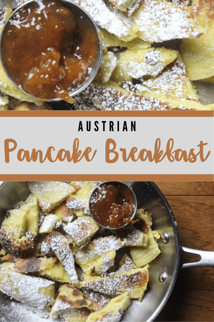 Kaiserschmarrn (A Pancake Delight) Pinterest Image
