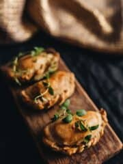 Polish food: Baked pierogies from Poland