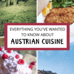 Austrian Cuisine Pinterest Image