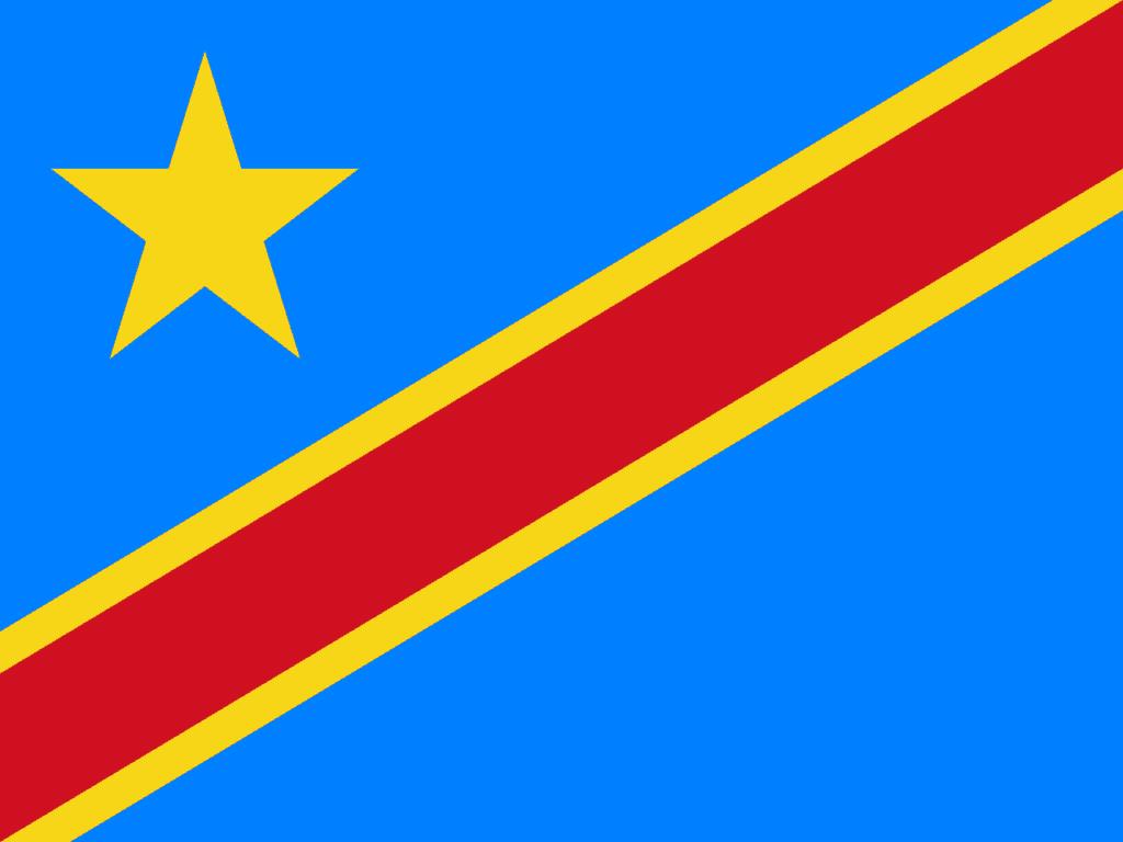 Flag of Democratic Republic of the Congo