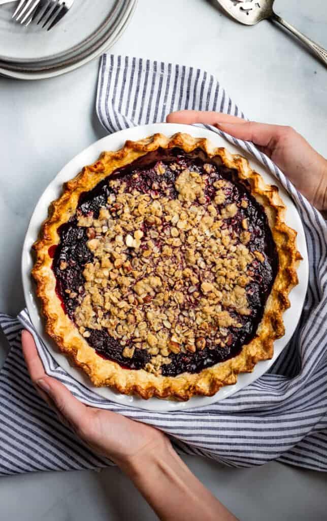 Fourth of july recipes: Blackberry bourbon pie