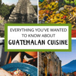 Guatemalan Cuisine Pinterest Image