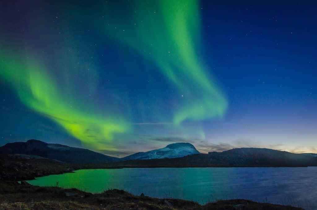 Northern Lights in Sweden
