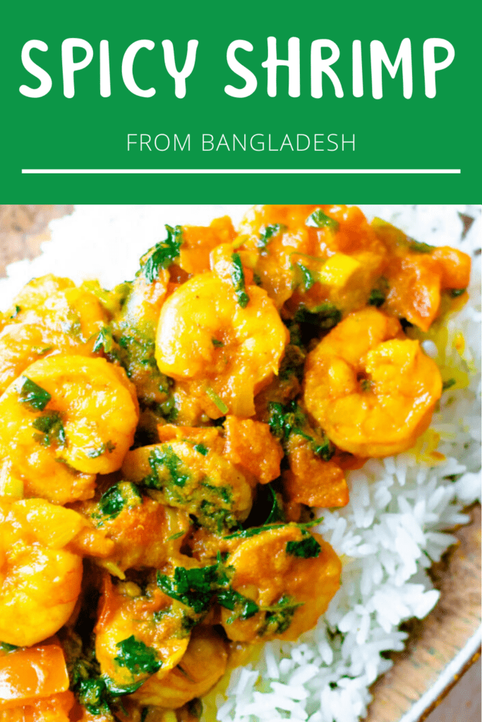 Spicy Shrimp Pinterest Image