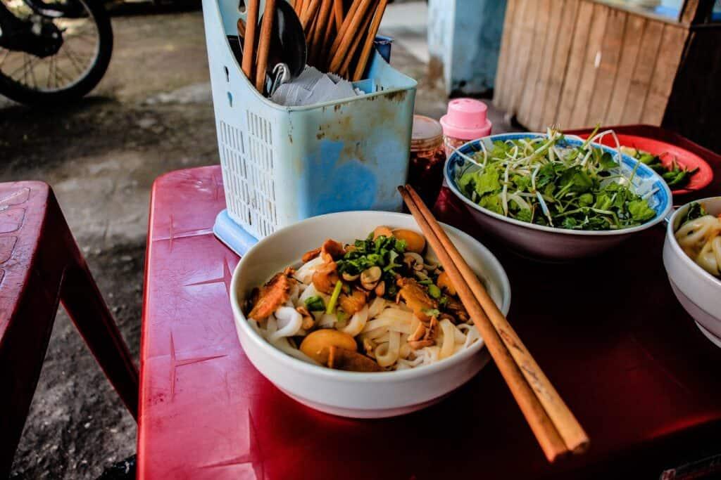 Vietnamese Food: Breakfast in Vietnam
