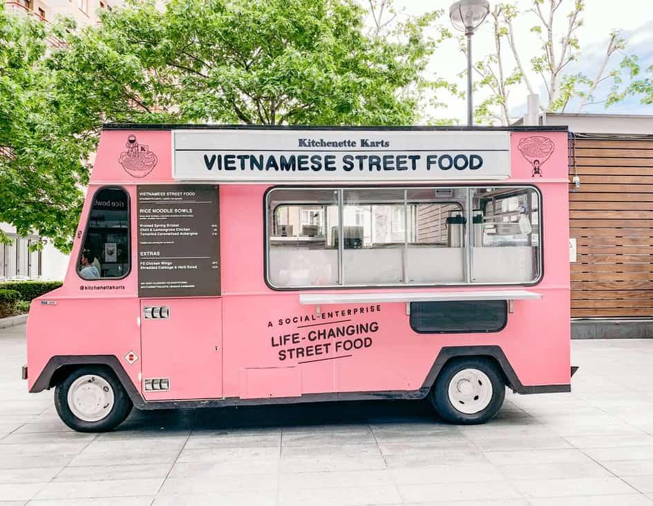 Vietnamese food truck in America
