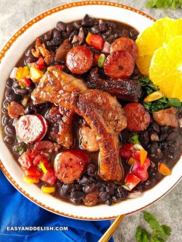 Feijoada Brazilian food