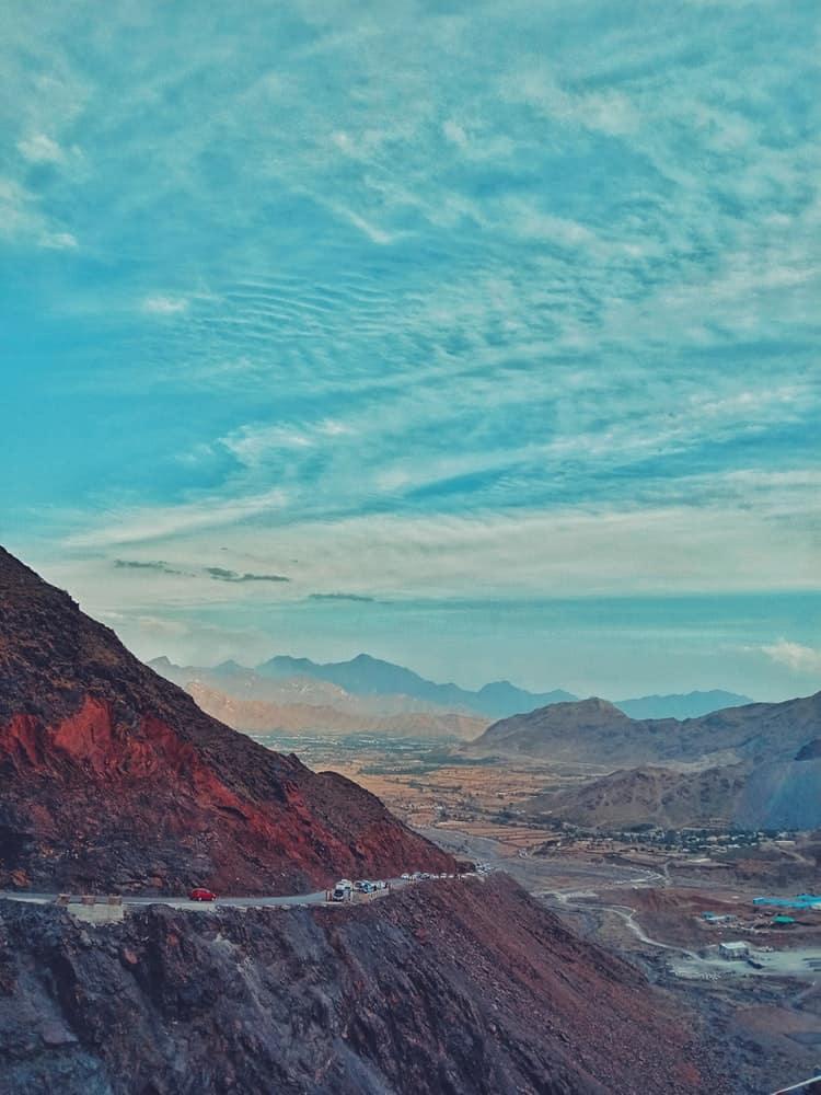 Hillside in Pakista