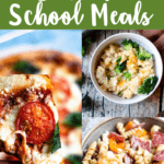 Back To School Meals Top Green Banner