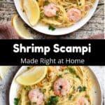 How to Make Shrimp Scampi Pinterest Image