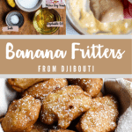 Banana Fritters from Djibouti Pinterest Image Middle Banner