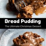 Bread Pudding Pinterest Image Middle Black Banner