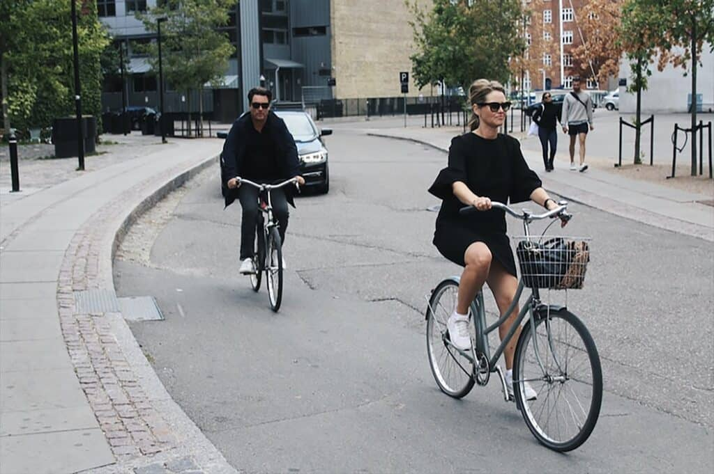Bikers in Copenhagen
