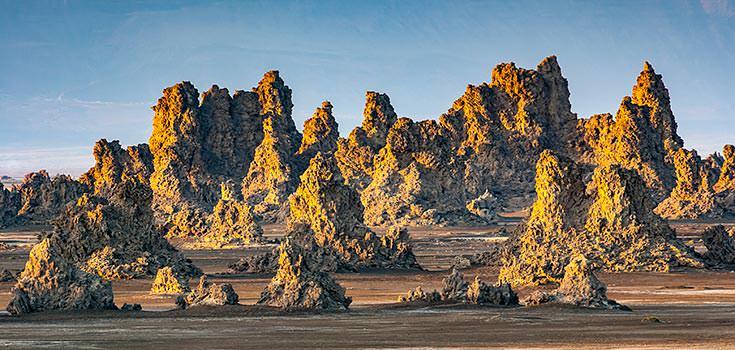 Landscape in Djibouti
